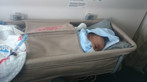 My Darling was comfortable in the bassinet whenever he fell asleep