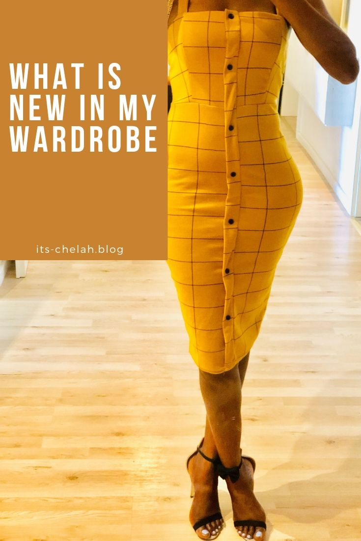 WHAT IS NEW IN MY WARDROBE ?
